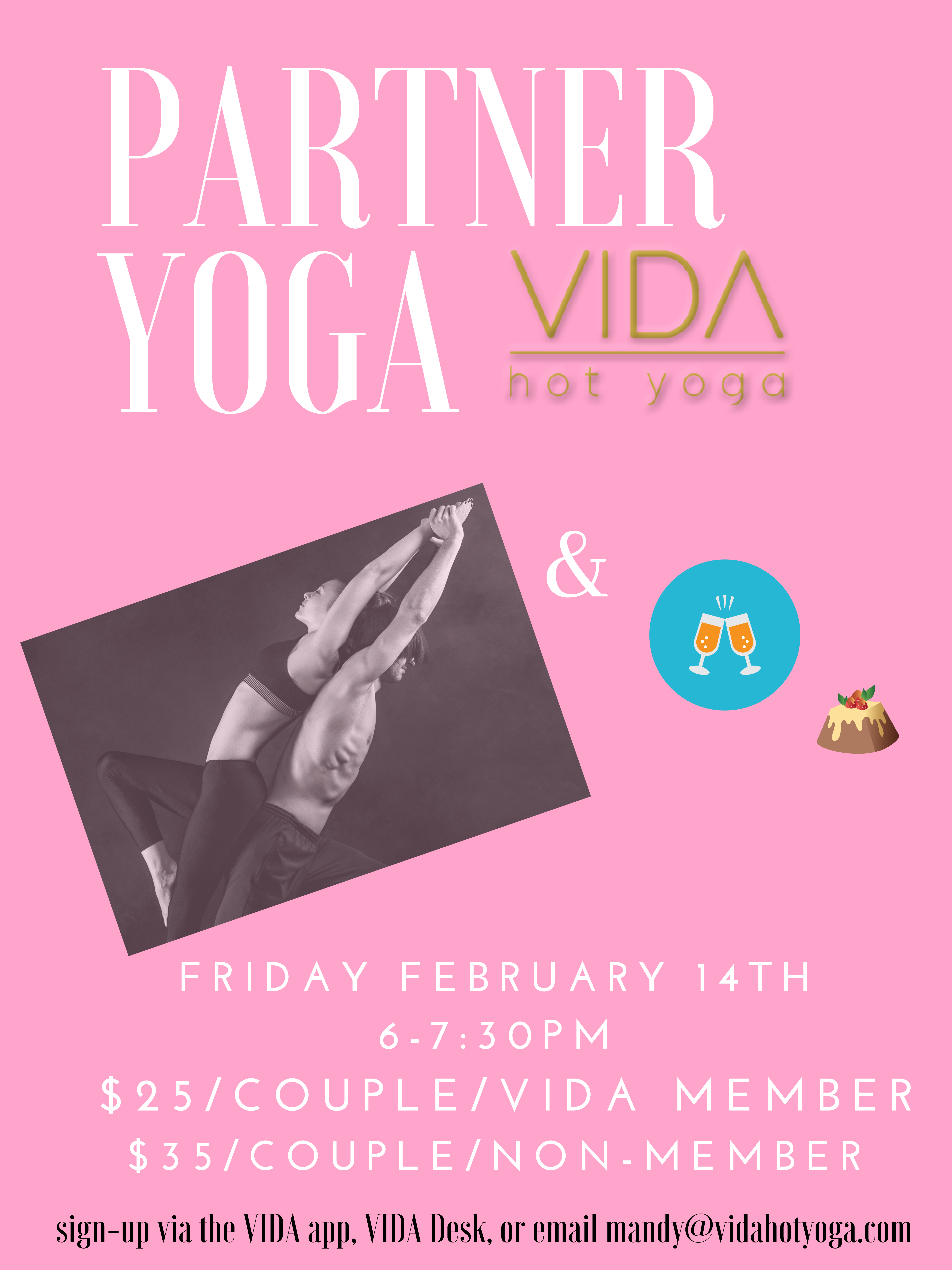 Valentine's Day: Partner Yoga